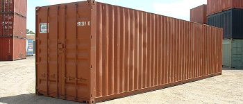 40 ft shipping container in New Orleans